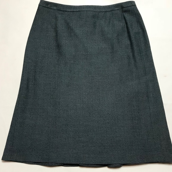 Boden Dresses & Skirts - Boden Wool Blend Herringbone Skirt 12r